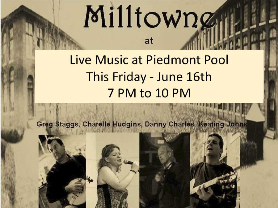 Music This Friday – Milltowne!